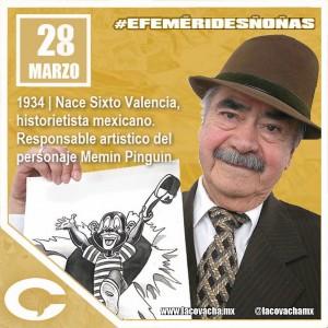Sixto Valencia cumple 81 años