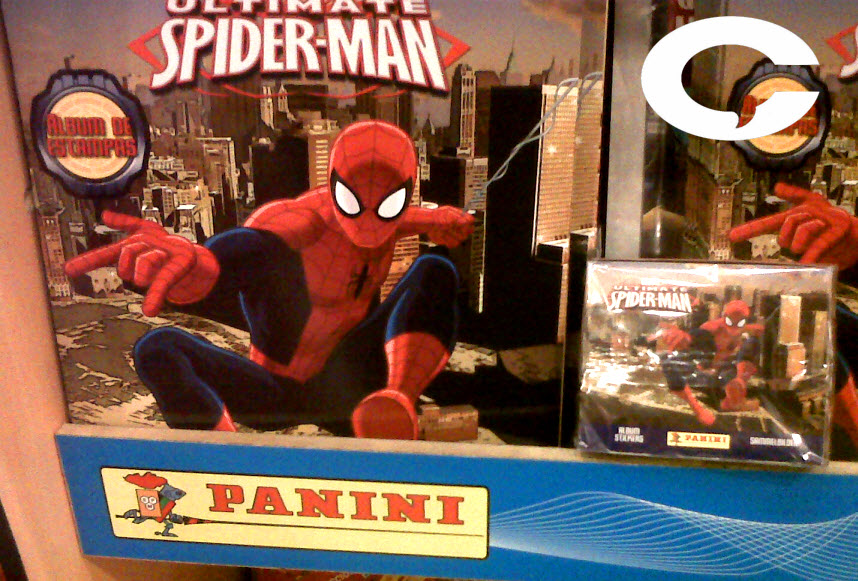 Spider-man llega a Panini México