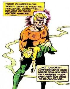 Y ni porque le mataron al bebé Aquaman se hizo interesante