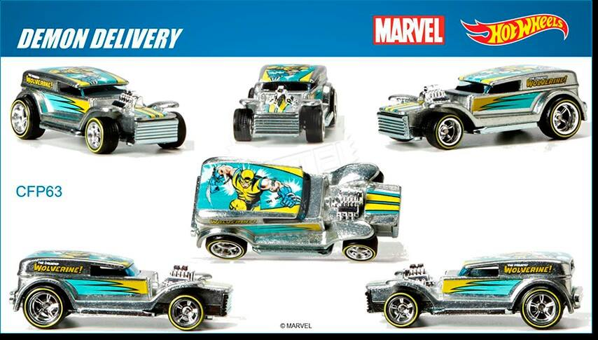 Marvel's Wolverine Hot Wheels 2015