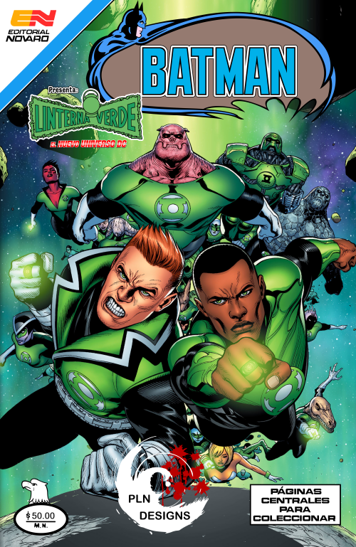Green Lantern Corps #1 New 52 Editorial Novaro