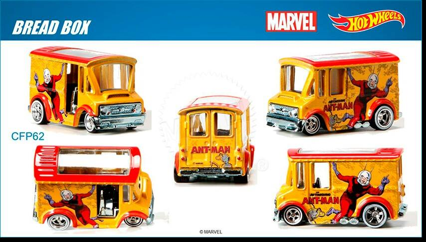 Marvel's Ant Man Hot Wheels 2015
