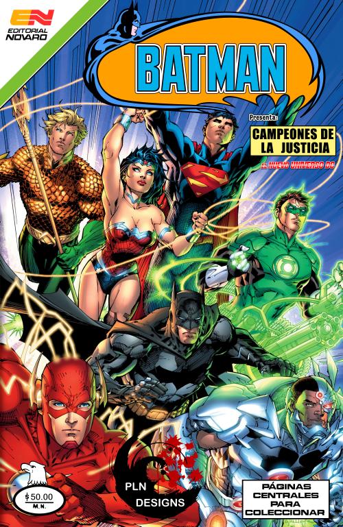 Justice League #1 New 52 Editorial Novaro