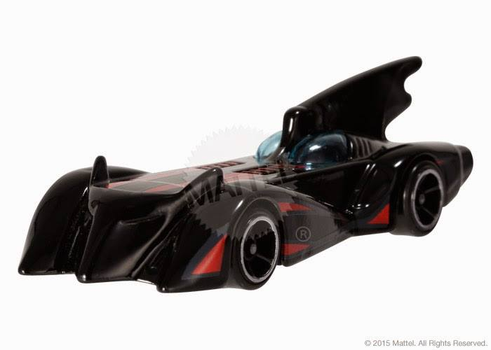 Batmobile Arkham Hot Wheels 2015