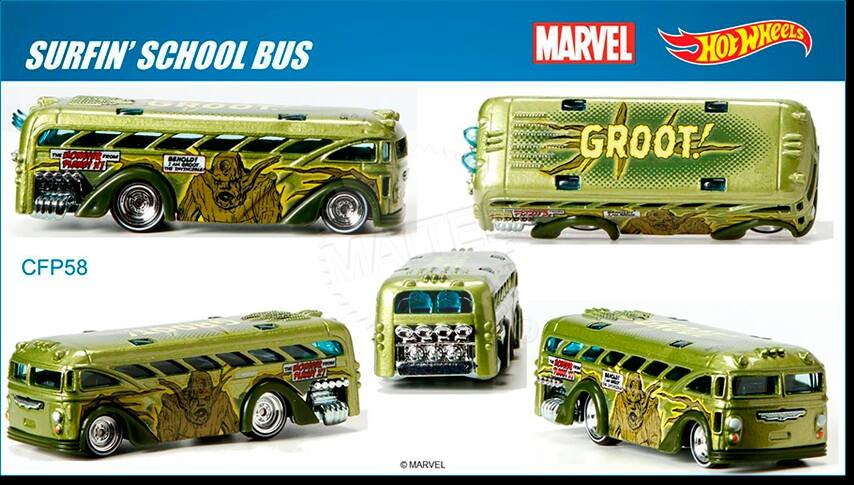Marvel's Groot  Hot Wheels 2015