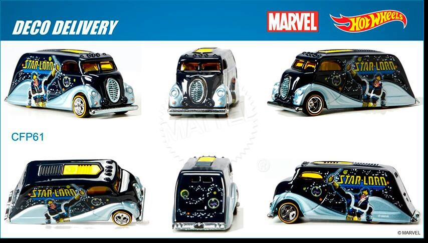 Marvel's Star-Lord  Hot Wheels 2015