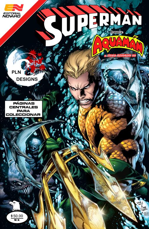 Aquaman #1 New 52 Editorial Novaro