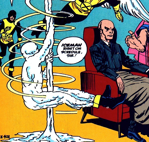 "Iceman ""X-Men"" #1 pole-dancer-gay-homosexual"