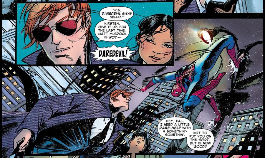 Matt y Peter siempre han tenido una curiosa amistad, aunque las identidades secretas suelen ser víctimas de ella