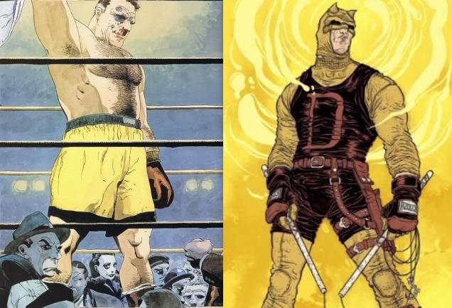Nada como ropa de entrenamiento en brillantes colores para pelear contra el crimen