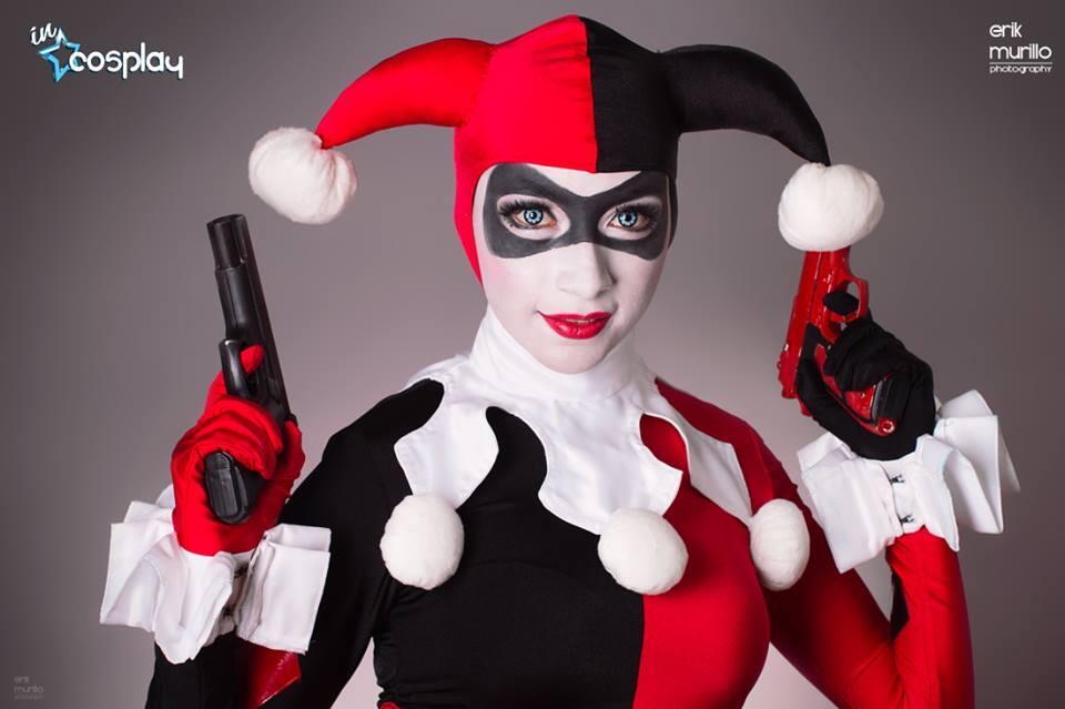 Rosa Cosplayer Harley Quinn cosplay