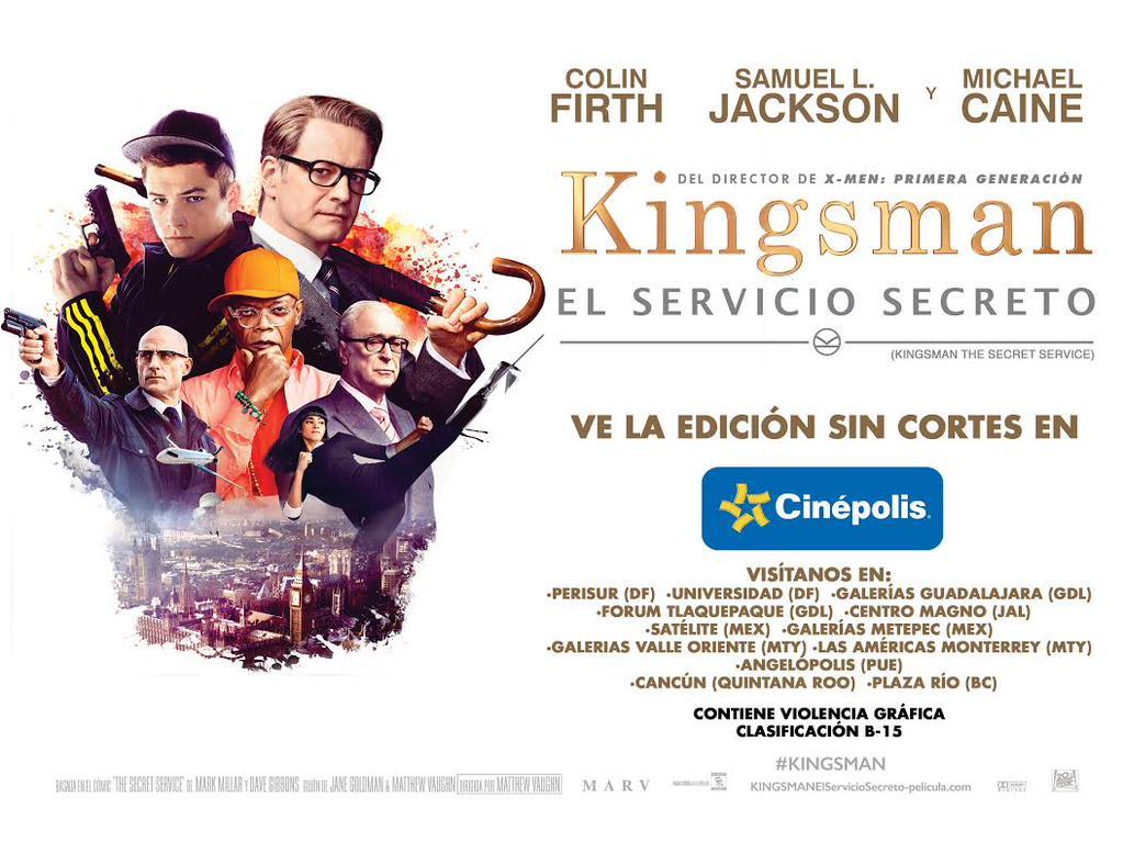 Kingsman Servicio Secreto sin censura