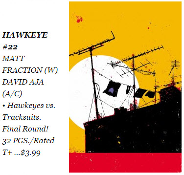 Hawkeye #22 Diamond