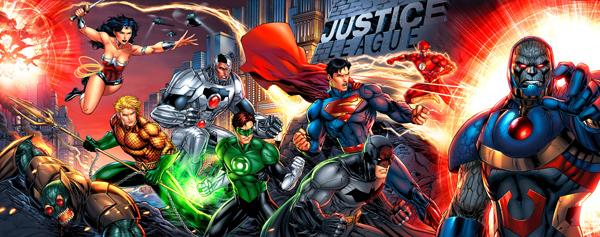 Justice League X Men #1 homage