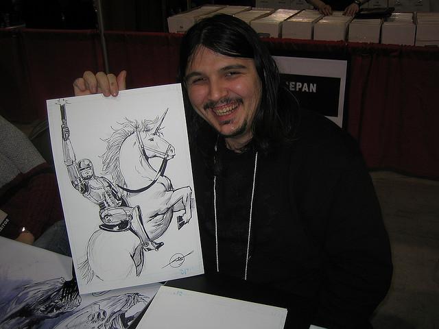 Stjepan Sejic | La Mole Comic Con Internacional