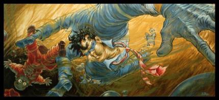El arte conceptual para The Spirit apuntaba a una animación fuera de lo convencional