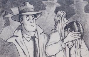 Brad Bird y Jerry Rees se encargaron del diseño para la versión animada