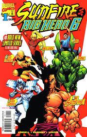 Sunfire and big hero 6 #1