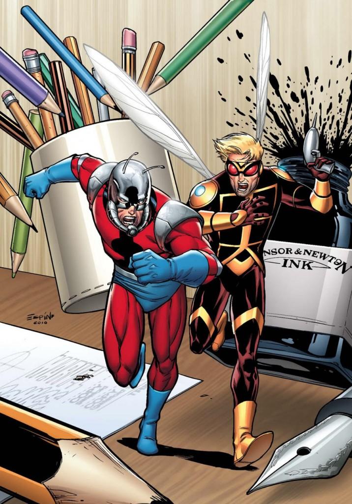 Wasp Ant Man Pym