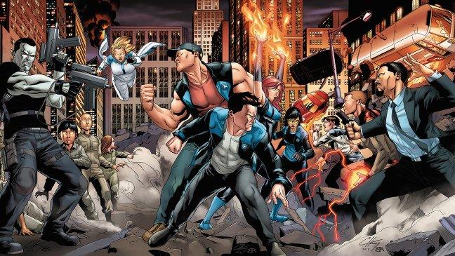 Harbinger Wars fue publicado en 2013, y será llevado a la pantalla como cierre de las historias de Bloodshot y Harbinger