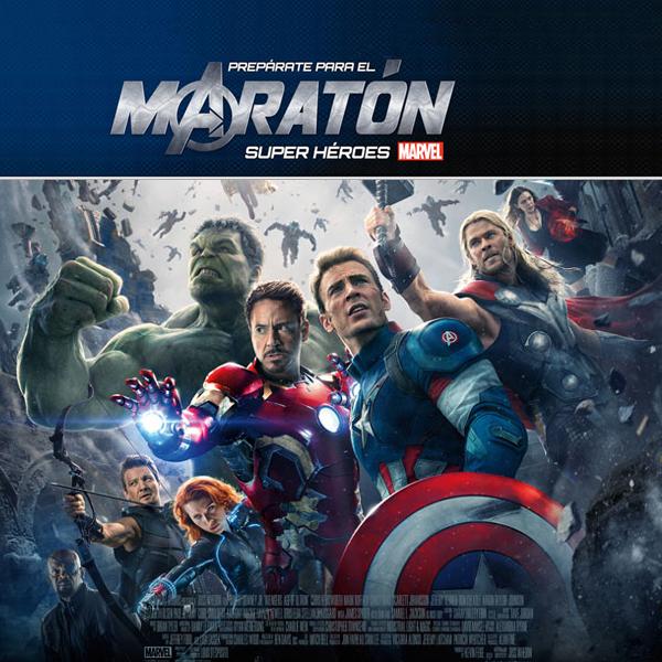 8d69965ba Maratón de películas previo a 'Avengers: Era de Ultrón' | La Covacha