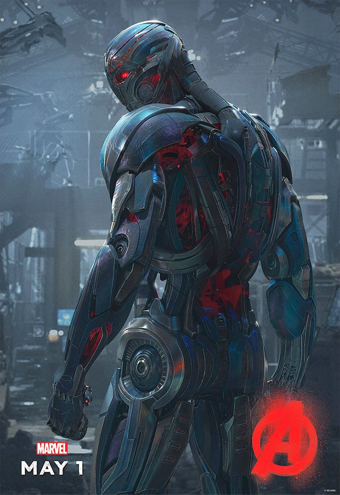 Puede tener objetivos similares a los de Bender, pero Ultrón es un robot mucho más temible