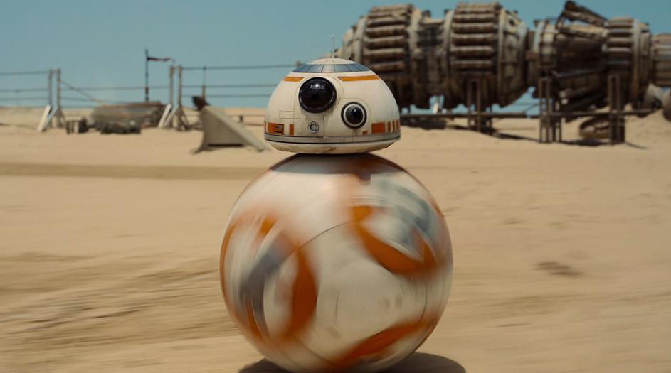 BB-8 droid Star Wars Force Awakens