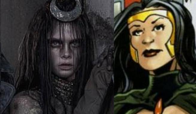 Cara Delevinge como Enchantress