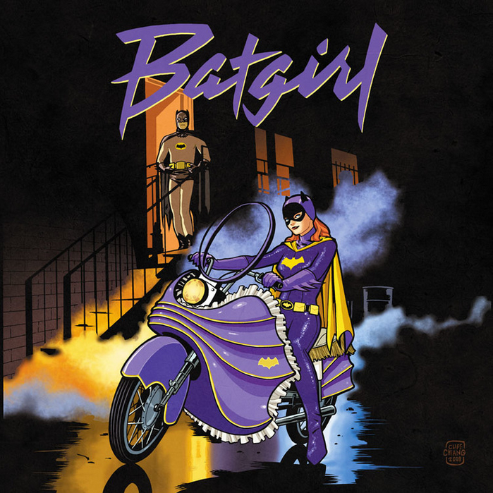 Batgirl - Purple Rain. El propio Prince estaría orgulloso con esta portada de Babs.