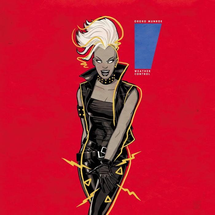 Storm - Control. Janet Jackkson tiene portadas más icónicas, pero Storm luce muy bien en ésta.