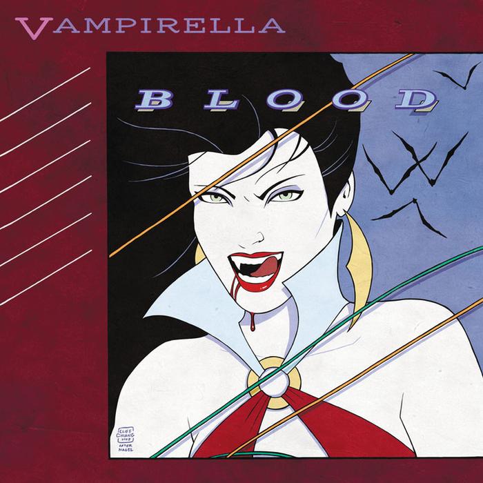 Vampirella - Rio. Duran Duran hablaba de una mesera llena de sueños, pero Vampi luce bien incluso cuando no muestra todos sus atributos.
