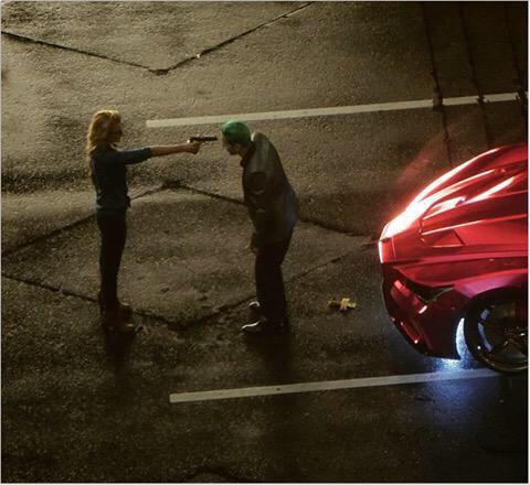Joker (Jared Leto) Harley Quinn (Margot Robbie) Suicide Squad