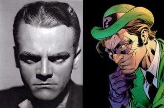 La personalidad de James Cagney hubiese dado un caracter especial a The Riddler