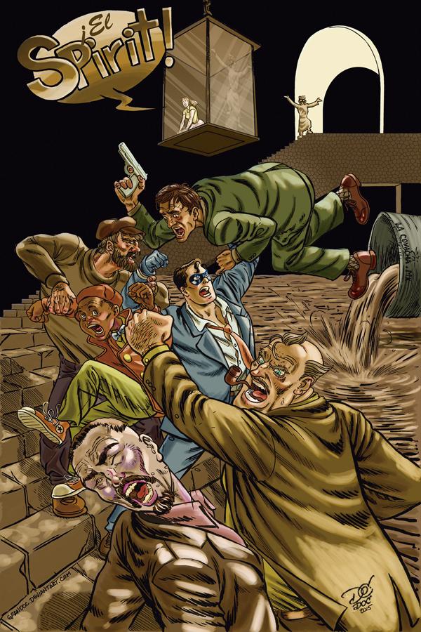 The Spirit by Daniel Ortiz Celestino