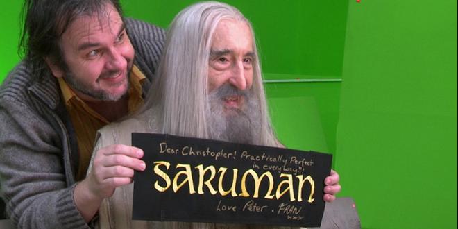Peter Jackson quedando bien con Saruman