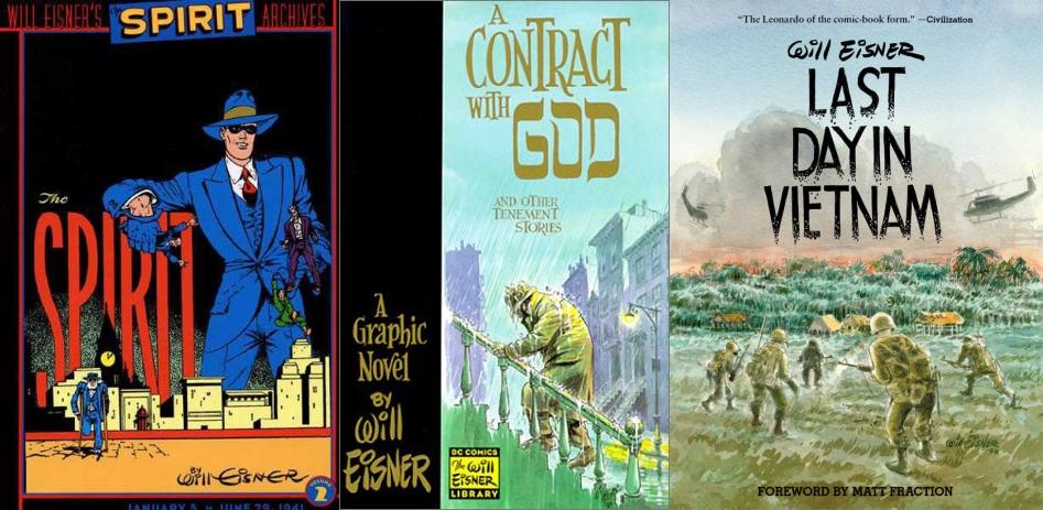 Eisner produjo cómics y novelas gráficas durante 70 años