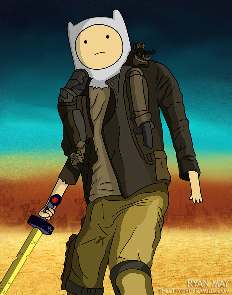 Es fácil visualizar a Finn como un sobreviviente del yermo