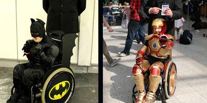 Y cuando decimos todo es todo , si tu papá te lleva a la convención puedes hacerlo parte de tu cosplay.