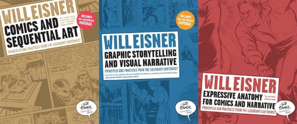 Los libros de instrucción de Eisner son lectura obligada para cualquier autor de cómic