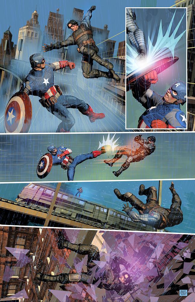 Además de sus proyectos propios, Raffaele ha trabajado para Marvel Comics