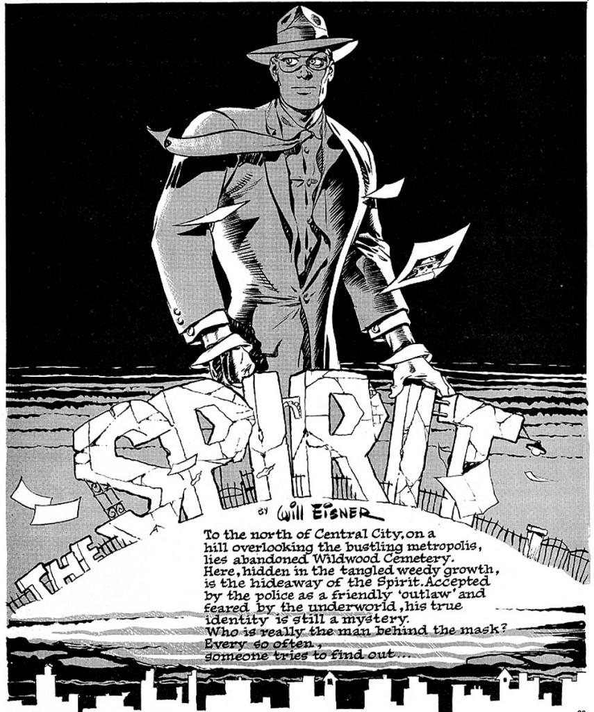 Al no contar con portadas, Eisner usaba su primera página de formas creativas