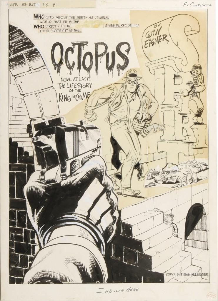 Pese a no tener una galería de villanos tan distintiva,, Eisner sabía sacar jugo a sus personajes más memorables