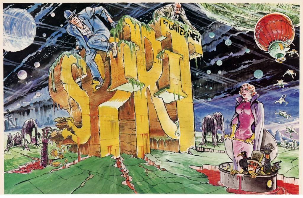 Otra aportación de Wood fue la incursión en temas de ciencia ficción, que llevaron a las avanturas espaciales de The Spirit