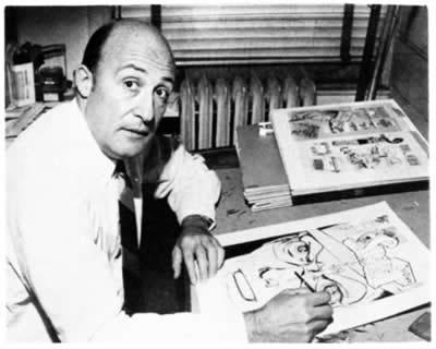Will Eisner es una de las figuras más prolíficas e influyentes en el desarrollo del cómic