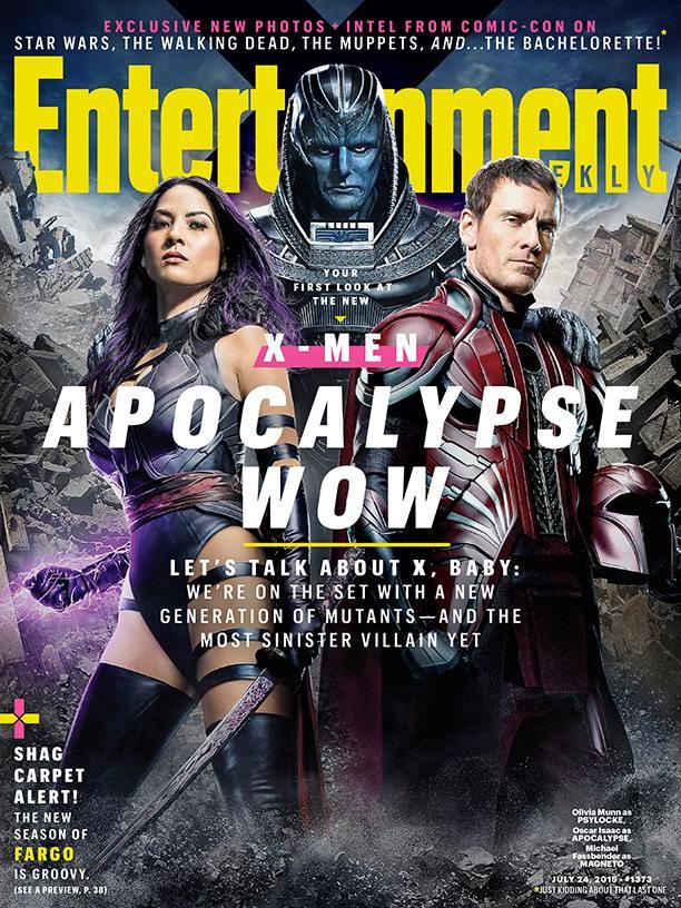 Portada de la nueva Entertainment Weekly. Image Credit: Michael Muller