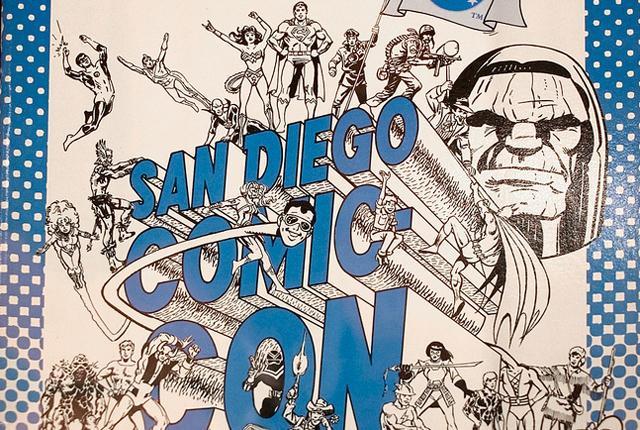 Cuenta la leyenda que también venden cómics durante esta Convención