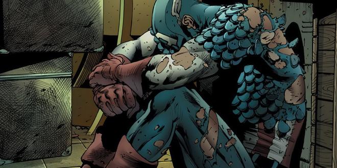 Ver al Capitán América derrotado durante cuatro números no es tan divertido como suena