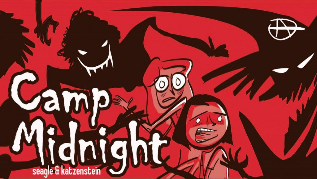 Steven T. Seagle tiene ahora un público infantil y juvenil gracias a Big Hero 6, y Camp Midnight busca atenderlo.
