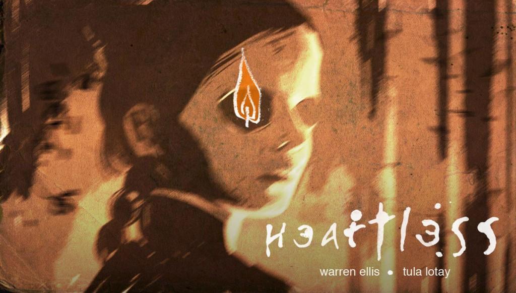 Warren Ellis y Tula Lotay piensan explorar un poco de horror sobrenatural en las páginas de Heartless.