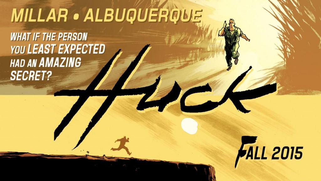Mark Millar pisa terreno arriesgado con Huck, esta vez en complicidad con Rafael Albuquerque.